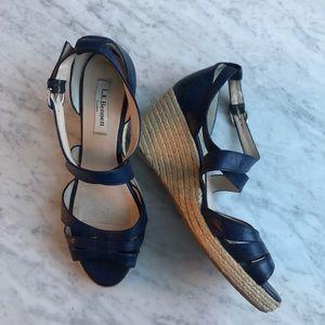LK Bennett Wedge Espadrille Sandals